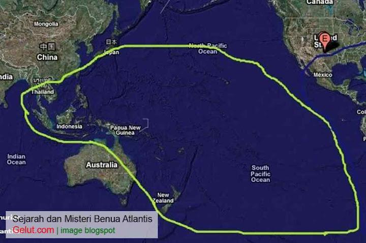 letak atlantis benua atlantis Benua Atlantis Sejarah dan Misteri Yang Tersembunyi atlantis di indonesia