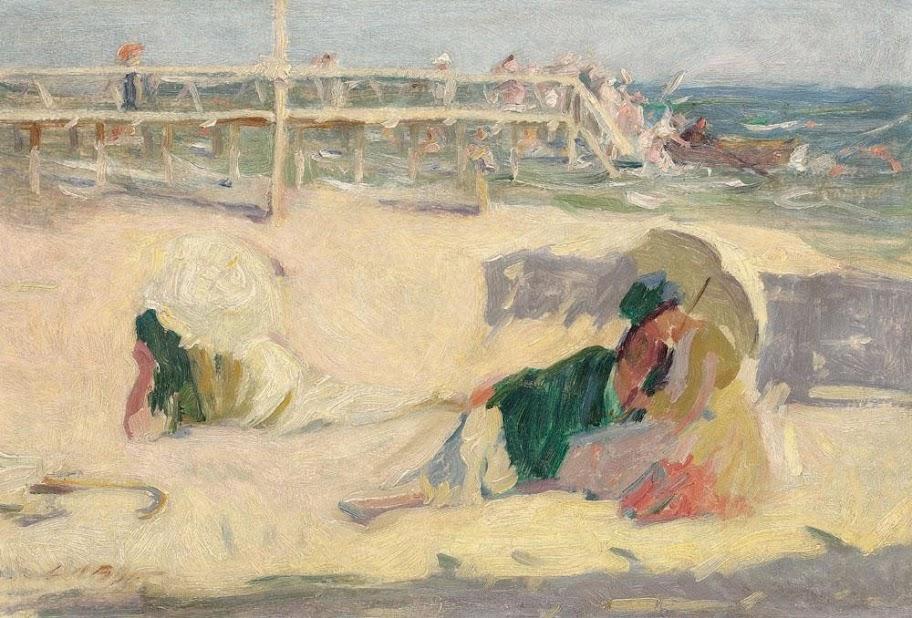 Leon Biju - Plajă la Mamaia