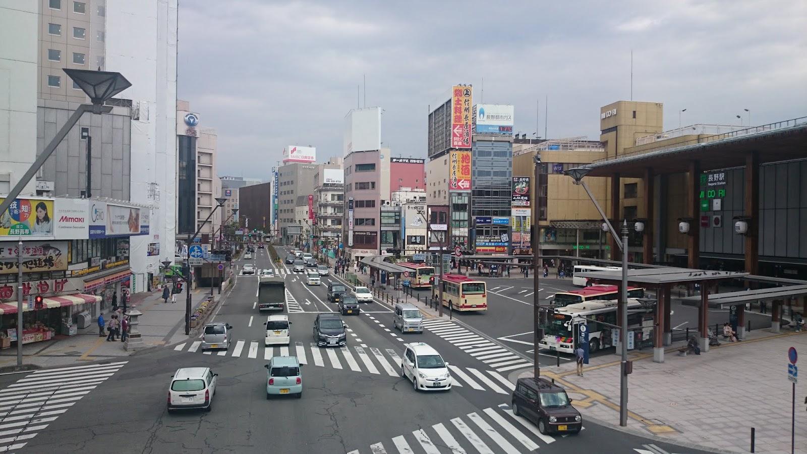14:53 長野駅前
