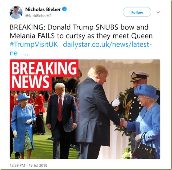 trump no bow