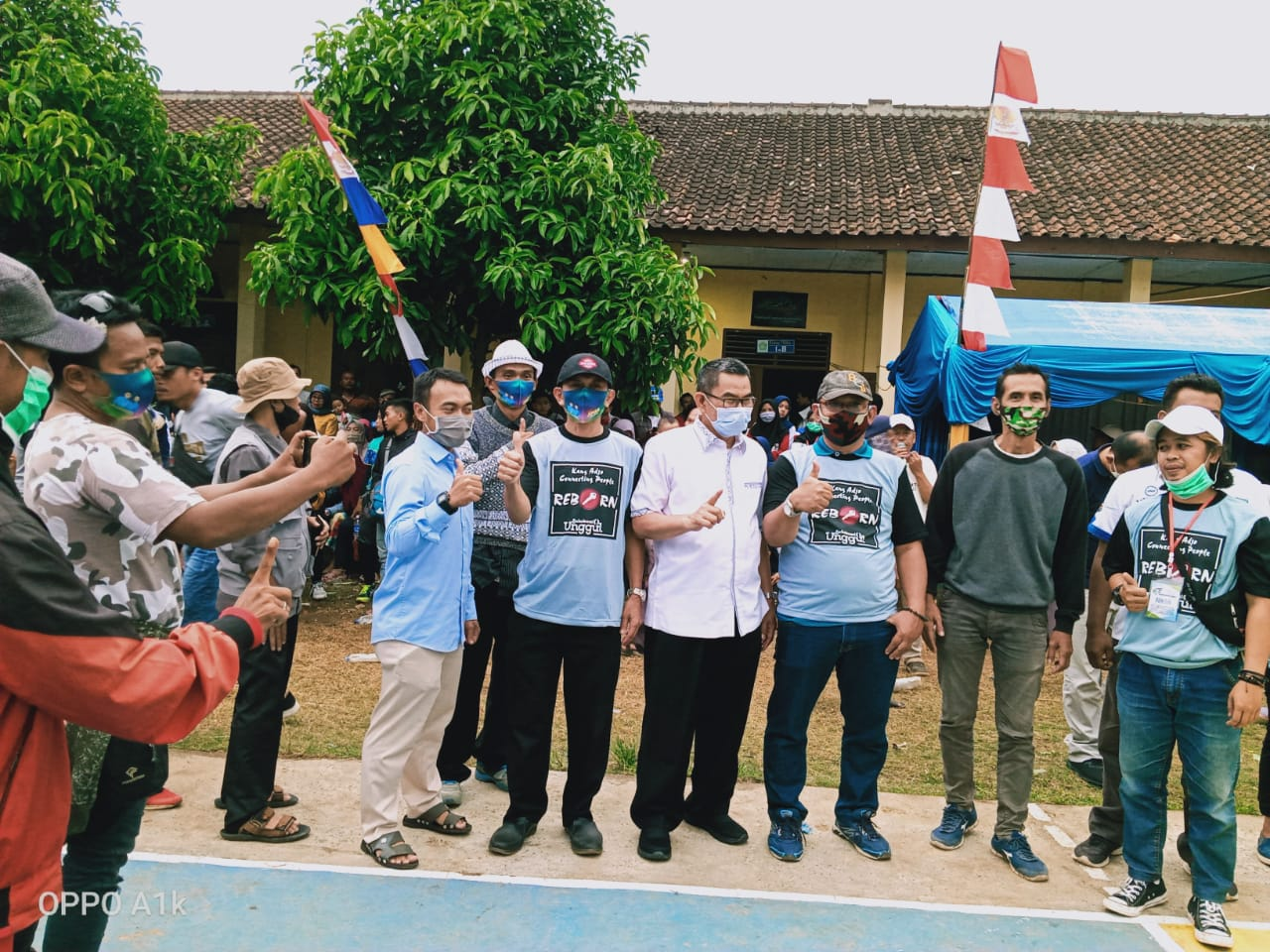 Cabup Sukabumi Drs.H.Adjo Sarjono M.M Hadiri Open Cup Tournamen Volley Ball