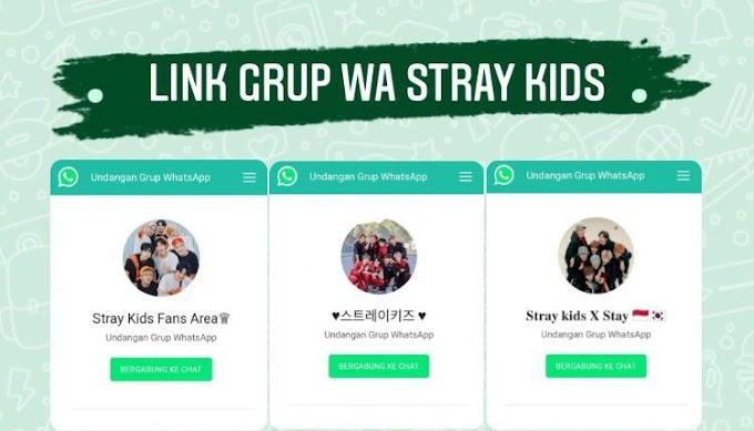 100+ Link Grup WhatsApp Stay 2021 | Grup WA Stray Kids Indonesia