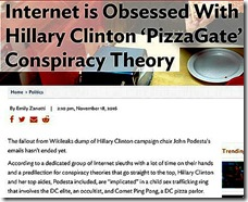 internet obsessed with pizzagate