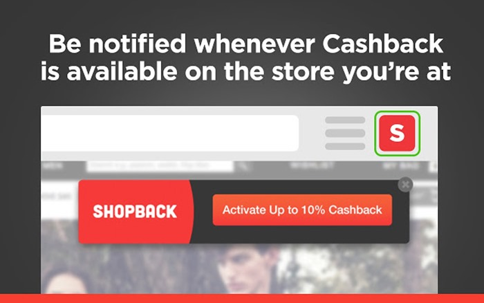 CashBack Extension