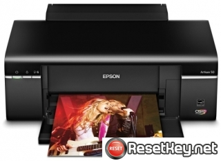 Reset Epson Artisan 830 printer Waste Ink Pads Counter