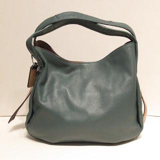 Coach Convertible Leather Shoulder Bag