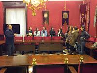 Visita al Ayuntamiento de Granada
