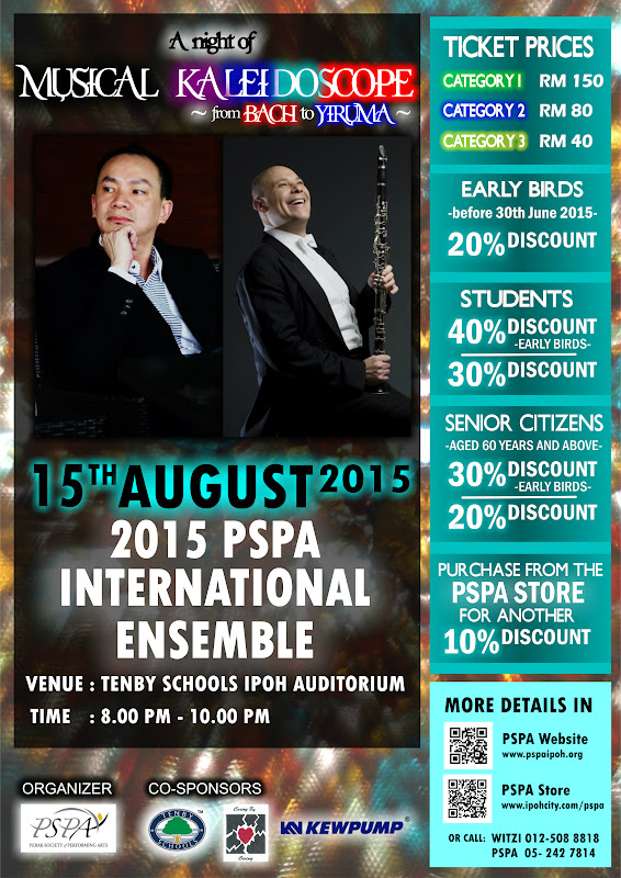 Announcement: 2015 PSPA International Ensemble