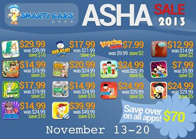 Smarty Ears App Sale ASHA 2013
