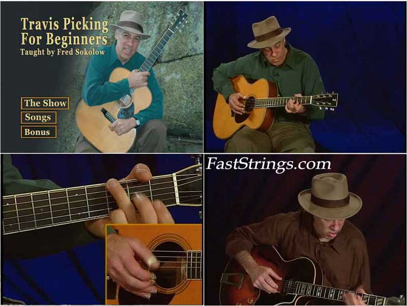 Fred Sokolow: Travis Picking for Beginners