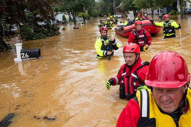 Vuelos cancelados, calles inundadas y cortes eléctricos tras el impacto de la tormenta tropical Henri