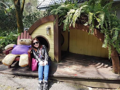 Bear house at Lavender Village at Taichung Taiwan