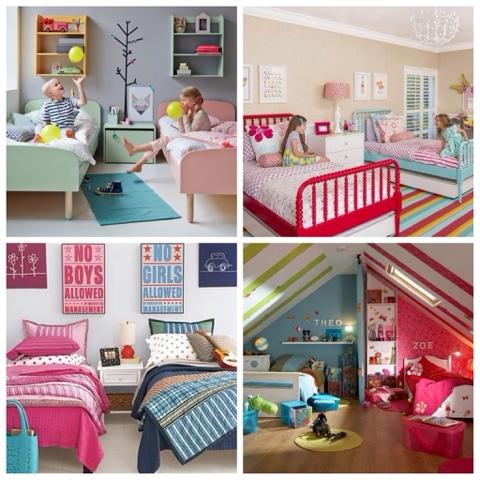 Dormitorios compartidos o un espacio para la hermandad for Cuartos de nina y nino juntos