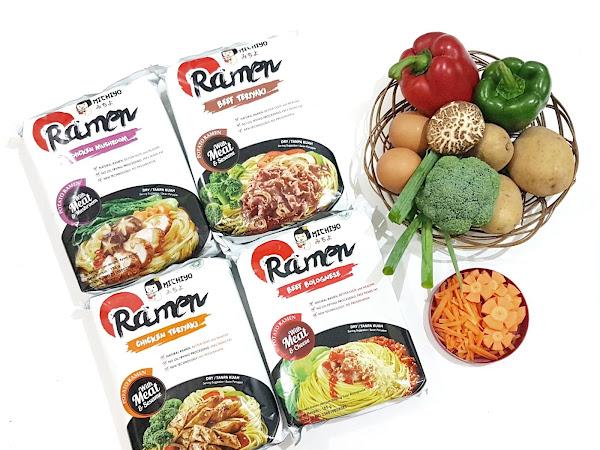 Ramen Halal yang enak ya Michiyo Ramen