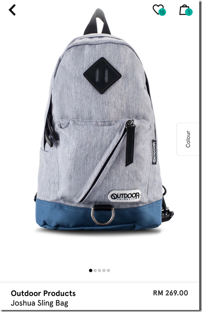 Outdoor Products X Joshua Chest Bag