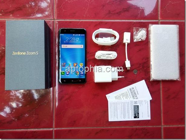 Paket Pembelian Asus Zenfone Zoom S ZE553KL