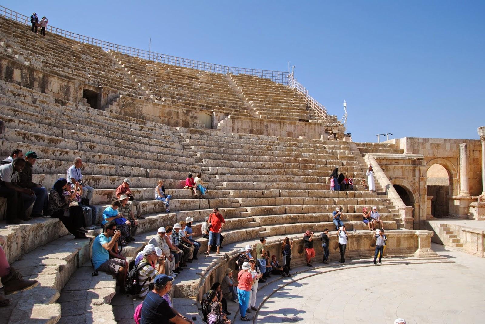 My Photos: Jordan -- Jerash -- The South Theater