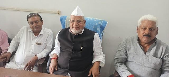 पुत्र मोह में फंसी सोनिया , राहुल-प्रियंका बर्बाद कर रहे कांग्रेस पार्टी : सिराज मेहदी
