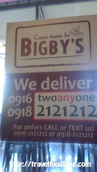 Bigbys SM City Cebu