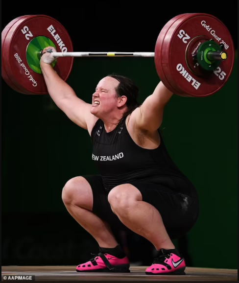 Controversial transgender weightlifter, Laurel Hubbard is named sportswoman of the year