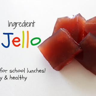 DIY 2 Ingredient Jello.