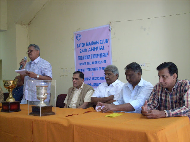 6. A Subba Raju, President APSBA speaking on the occasion