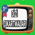 Türkçe Dizi Çıkartmaları icon