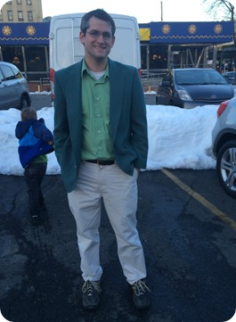 Ben's St. Patrick's Day Outfit