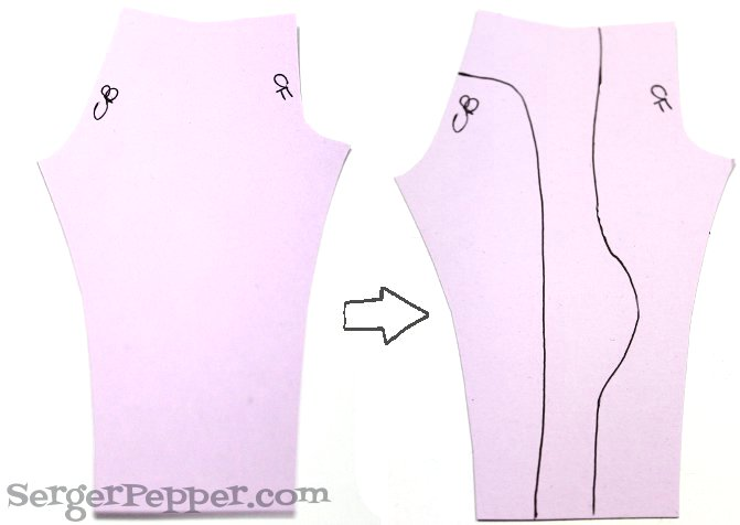 Serger Pepper How to create Color block Basic Leggings Victoria's Secrets inspired