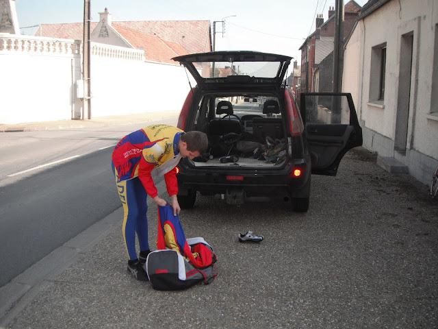preparation avant le départ