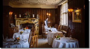 Gravetye Manor main dining room
