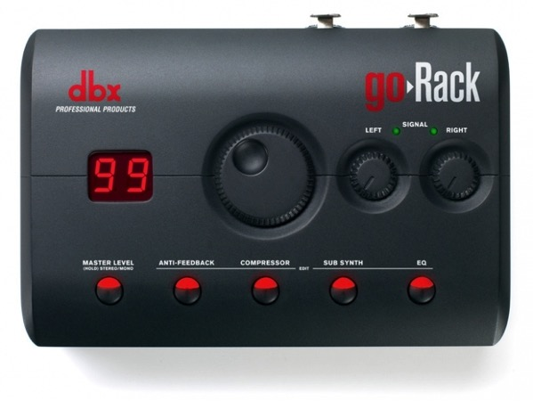 Dbx goRack Top lightbox w778h584