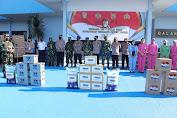 Kapolda Sulsel Bersama Rekan Rekan Anggota TNI - Polri Angkatan 1991 Gelar Bakti Sosial