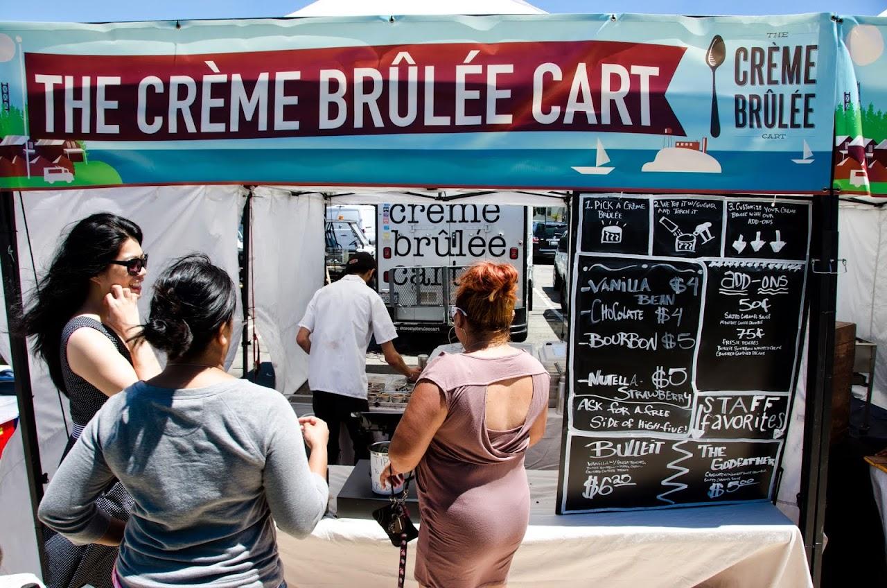 Creme Brulee cart
