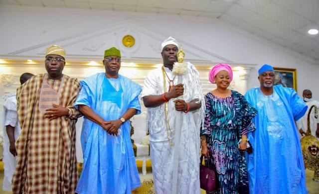 2023: See Ooni Ogunwusi's Message To Tinubu Campaigners ~Omonaijablog