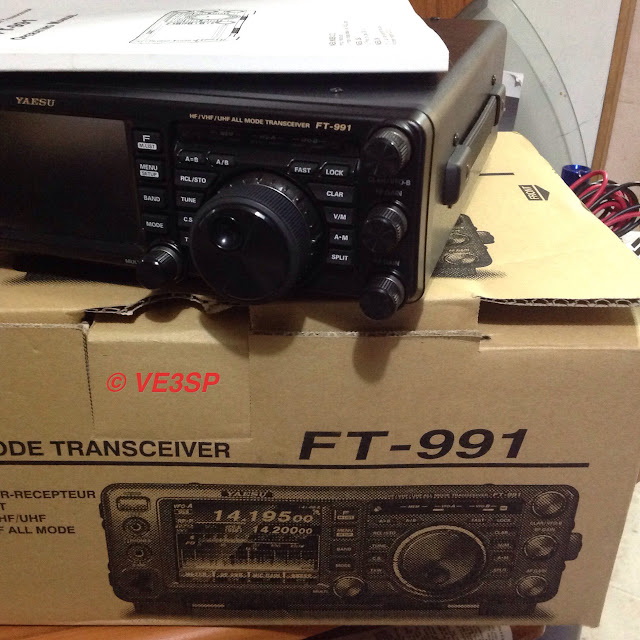 VE3SP UPDATED TO Yaesu FT-991a