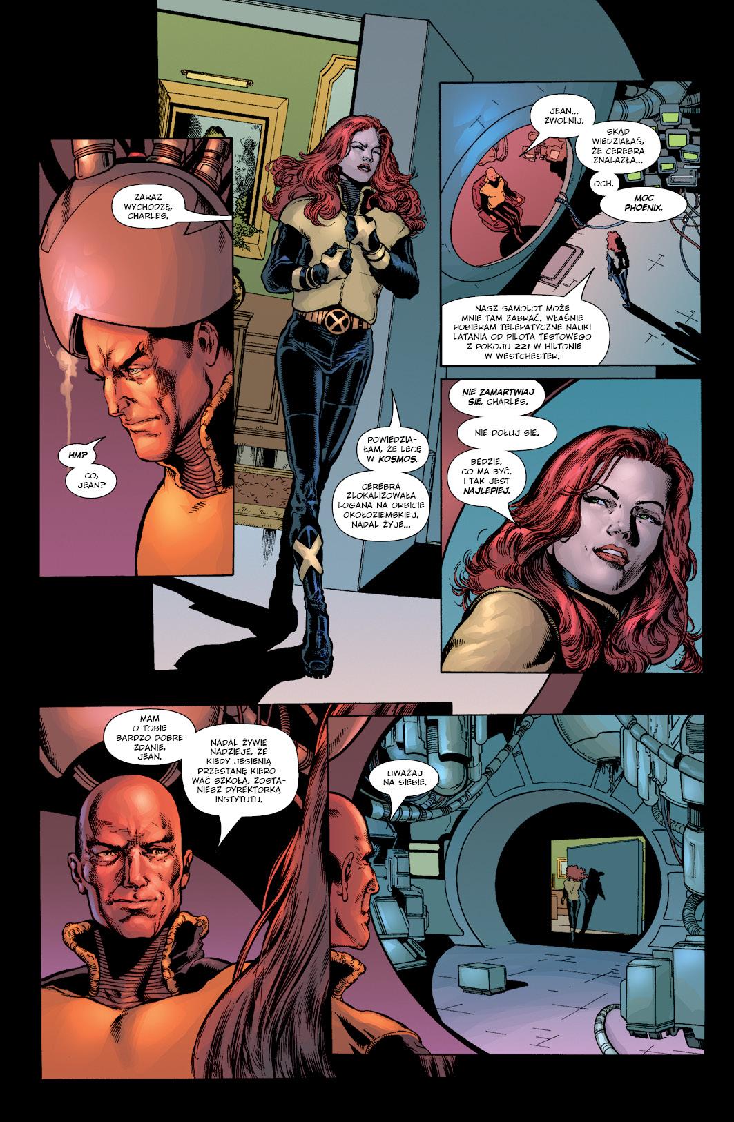 New X-Men tom 4 przykłądowa strona