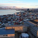 view from the Hallgrímskirkja in Reykjavik, Hofuoborgarsvaeoi, Iceland