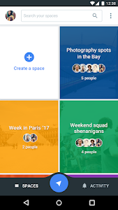 Spaces - Find & Do with Google screenshot 0