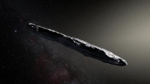 تكهنات حول كائن غير عادي مركبة فضائية من أعماق درب التبانة؟