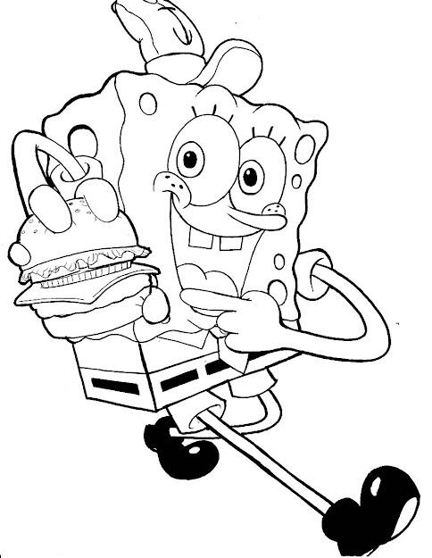 Coloring Pages Of Spongebob Squarepants