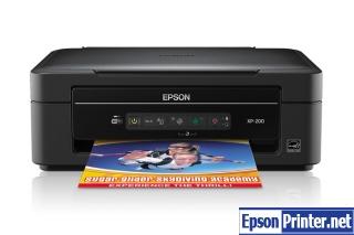 How to reset Epson XP-20 printer