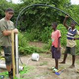 Aansluiten waterpomp