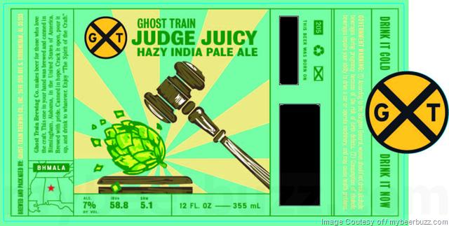 Ghost Train - Judge Juicy Hazy IPA