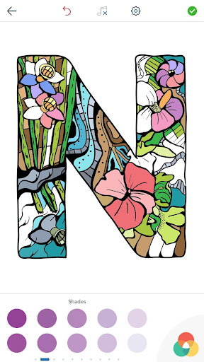 Alphabet Coloring Pages screenshot 9