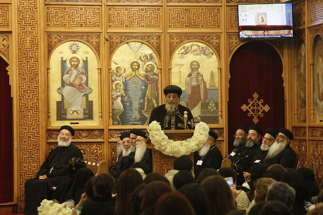 His Holiness Pope Tawadros II visit to St. Mark LA - _MG_0612.JPG