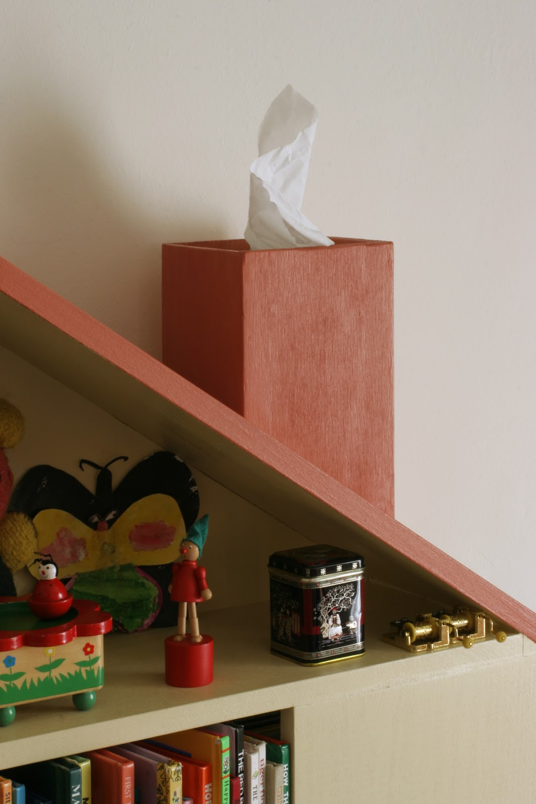 Marvelous photograph of The Brooding Hen: House Bookshelf with #A63125 color and 1067x1600 pixels