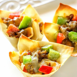 Sausage Wontons Red Pepper Recipes