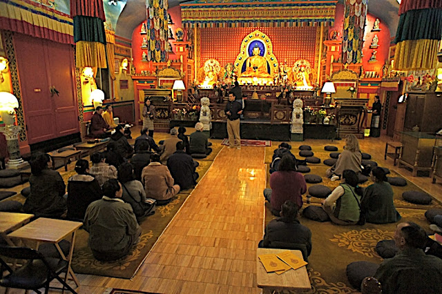 Prayer Service for late Jigme Norbu @ Sakya Monastery - random%2B088.JPG