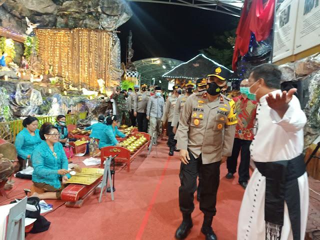 Wakapolda Banten Kunjungi Gereja di Kabupaten Tangerang, Cek Prokes dan Pengamanan Natal